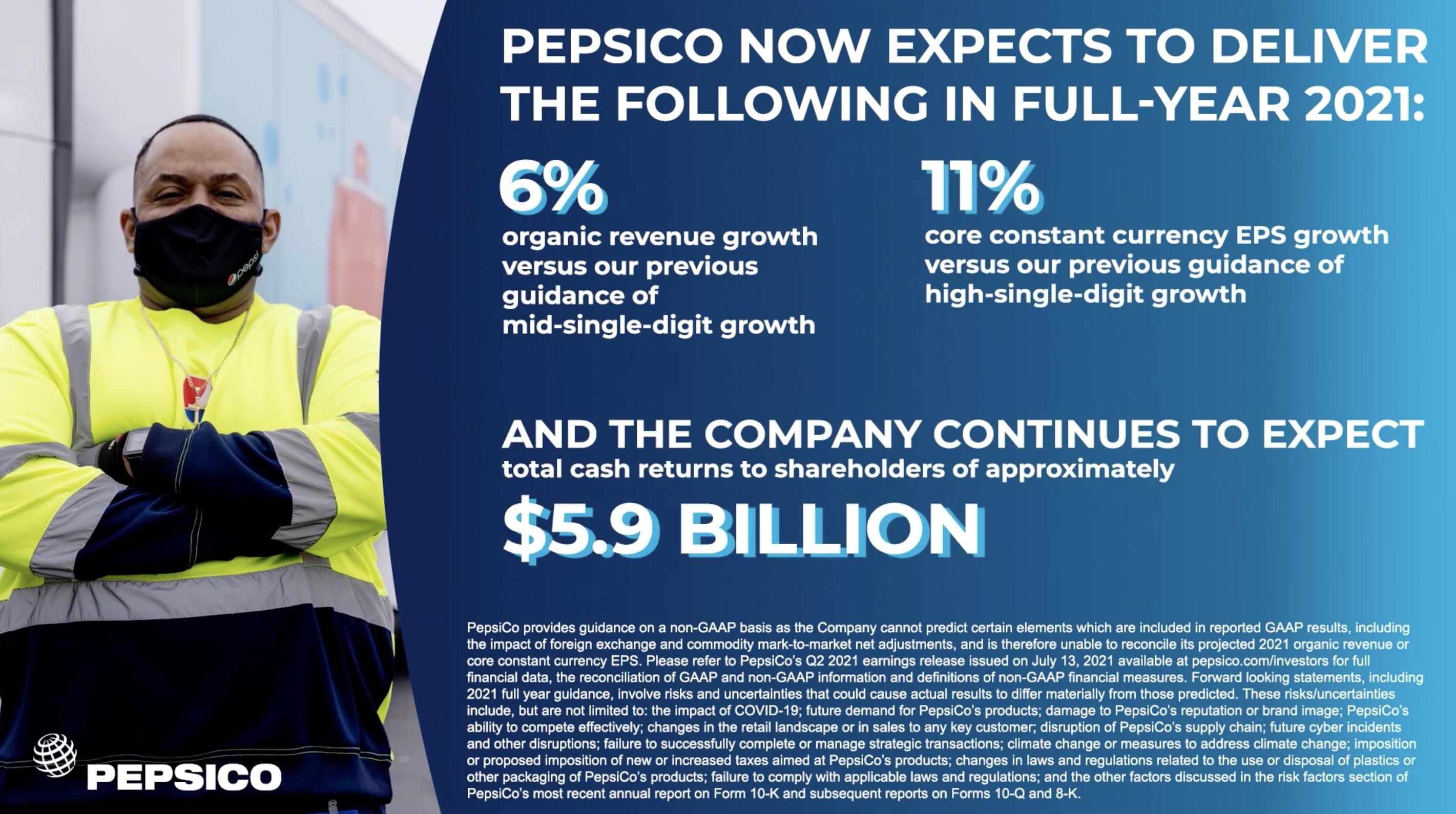 PepsiCo 21年2Q決算を徹底解説!さとり世代の株日記 資産運用